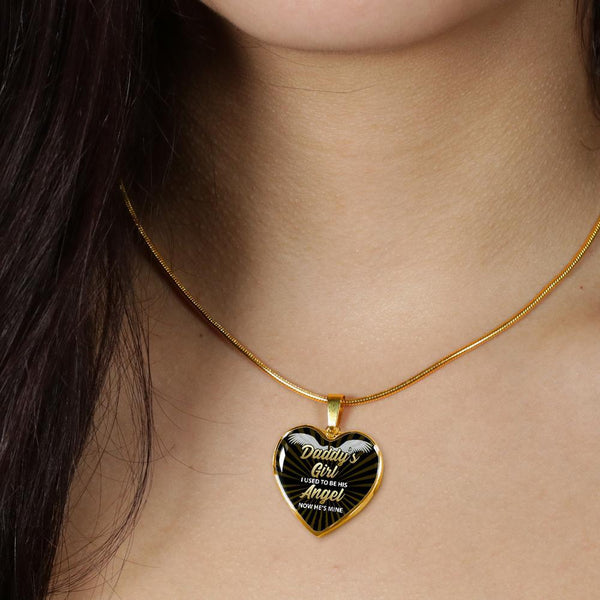 Daddy's Girl - Heart Necklace - FBHD18 *SHIPS IN 2 DAYS