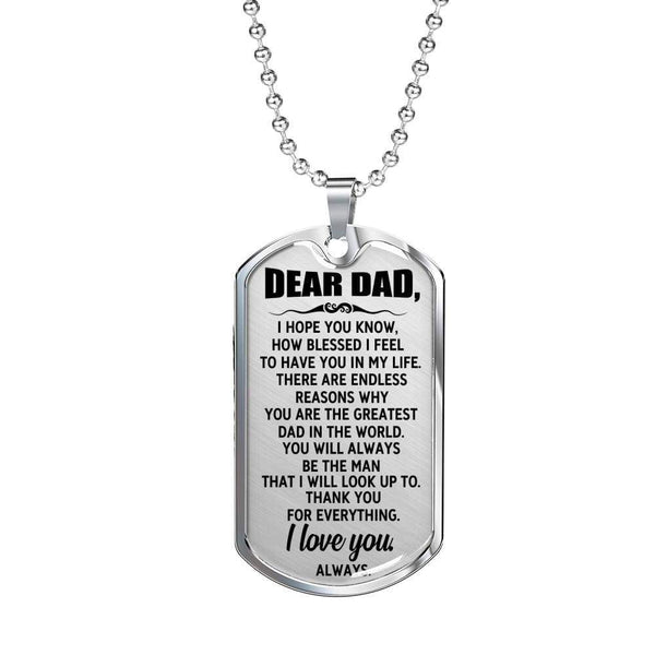 Dear Dad - Love Tag - FBDT47