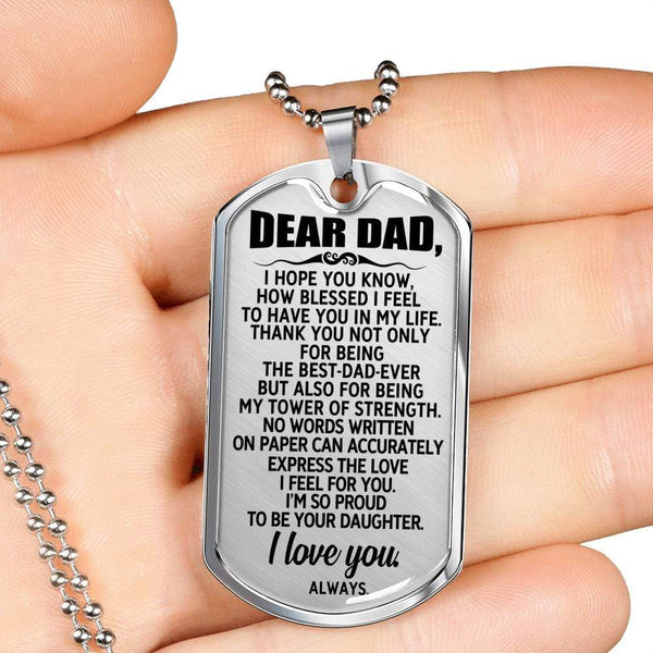 Dear Dad - Love Tag - FBDT49