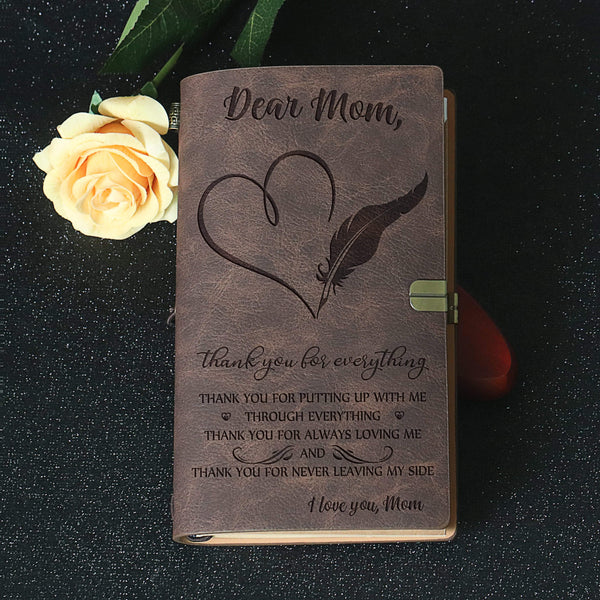Dear Mom - Beautiful Vintage Journal - WHNT-Z13M