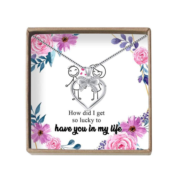Lucky To Have You - LoveCube w/ Necklace - PB1232-S5