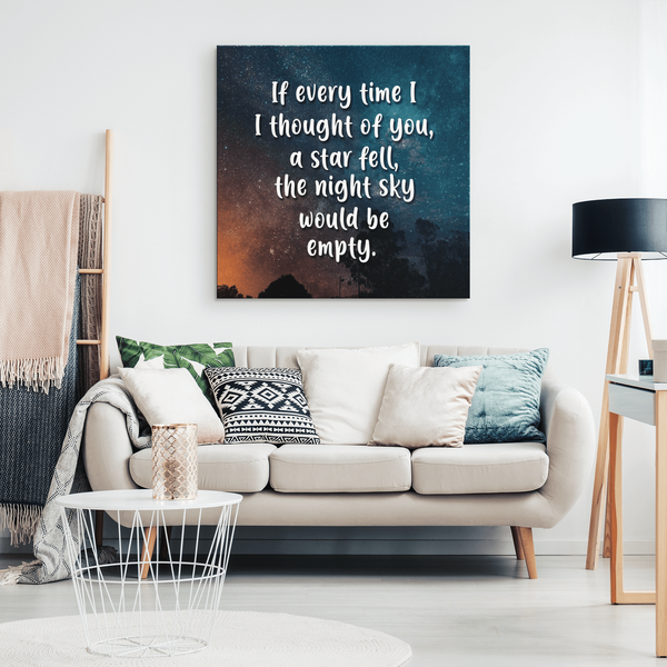 Thinking Of You - Premium Canvas Wall Art - WA14