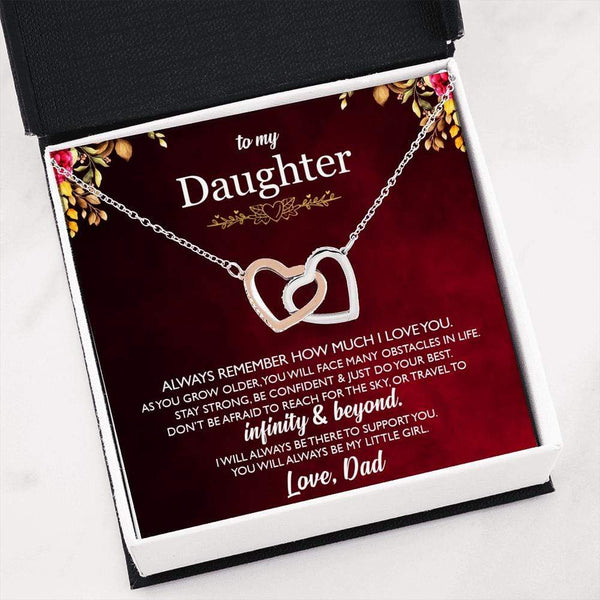 To Daughter From Dad - Interlocking LoveCube - SO114