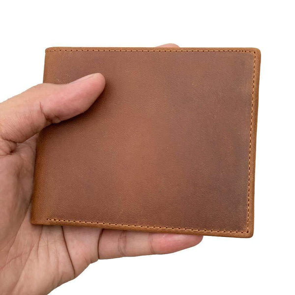 To My Dad - Bi-fold Leather Wallet - WHWT01-FBOX09