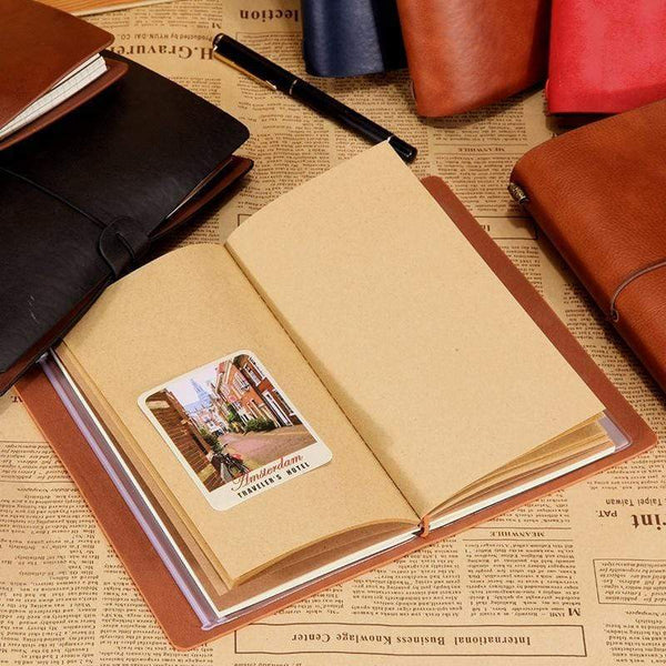 To My Dad - Fine Leather Journal - 09