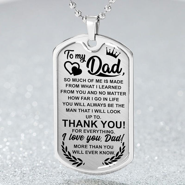 To My Dad - Love Tag - FBDT08