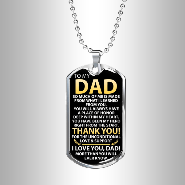 To My Dad - Love Tag - FBDT13