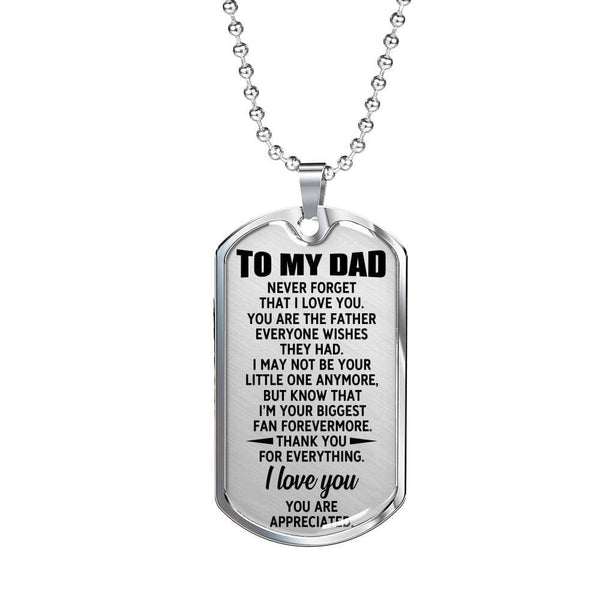 To My Dad - Love Tag - FBDT43