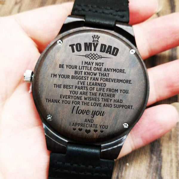 To My Dad - Wood Watch - WH-DF20B280