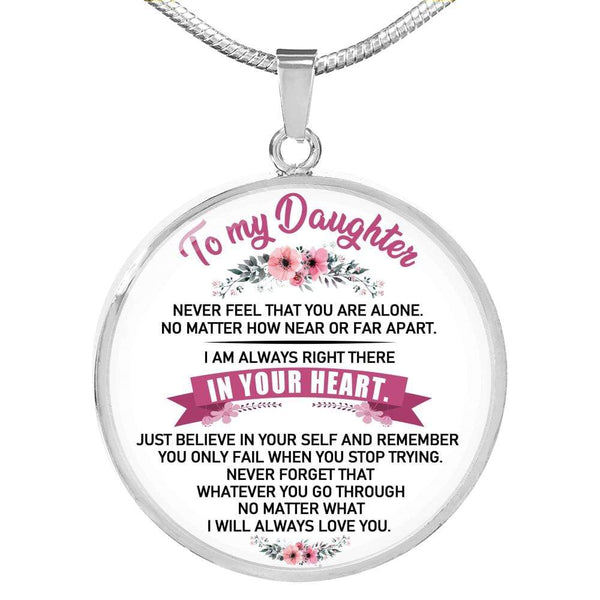 To My Daughter - Love Necklace - FBCD11