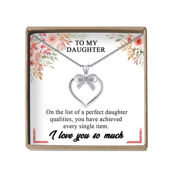 To My Daughter - LoveCube w/ Necklace - PB1232-S3