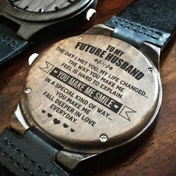 To My Future Husband - Wood Watch - WH-DF20B170