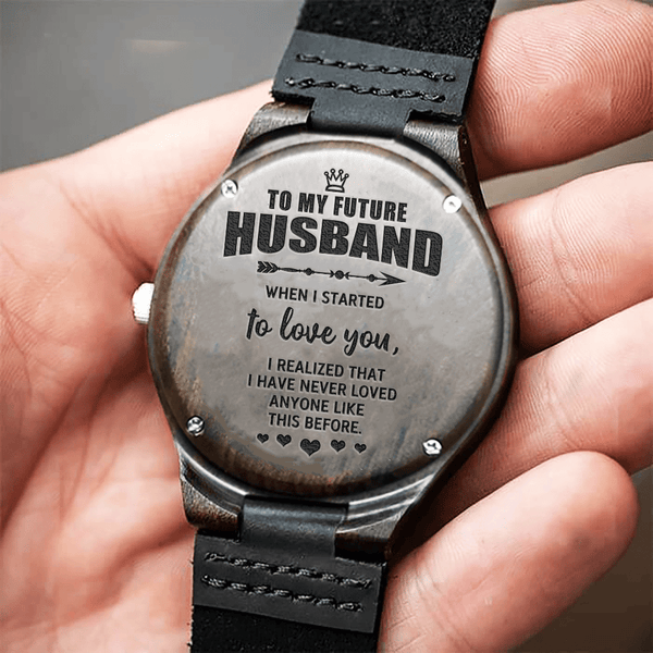 To My Future Husband - Wood Watch - WH-DF20B192