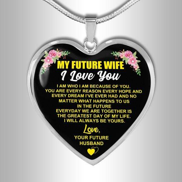 To My Future Wife - FBHD03 - Heart Necklace