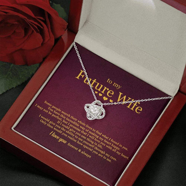 To My Future Wife - Love Knot Necklace - SO521