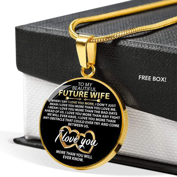 To My Future Wife - Love Necklace - FBCD04