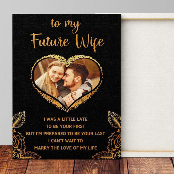 To My Future Wife - Premium Canvas Wrap - CW22