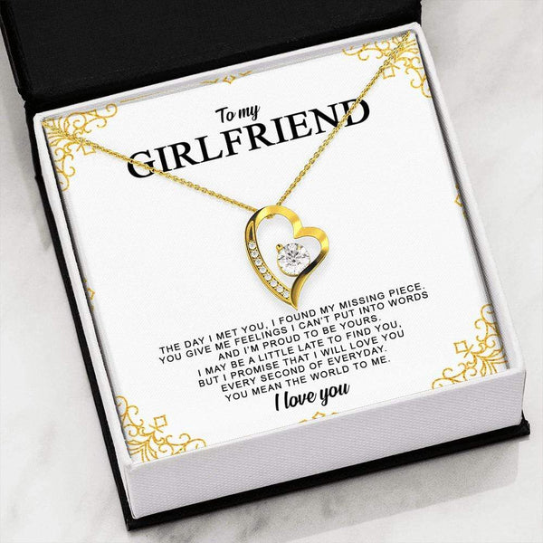 To My Girlfriend - Forever Heart LoveCube - SO269