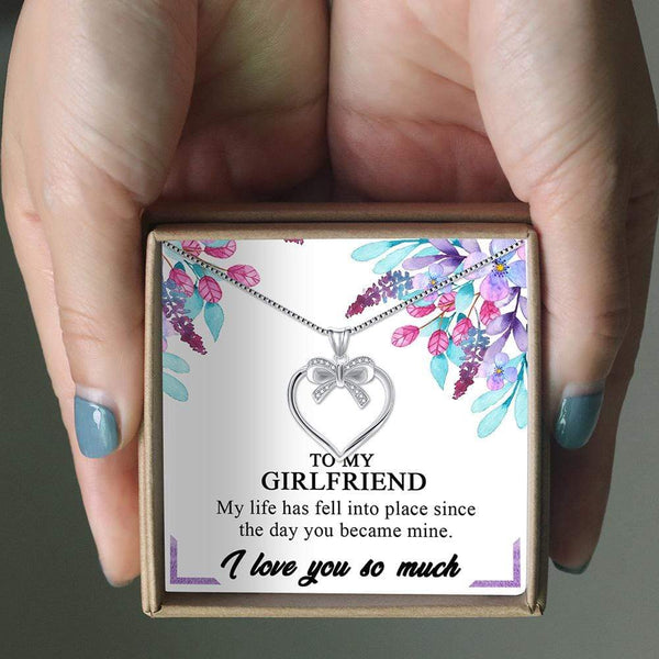 To My Girlfriend - LoveCube w/ Necklace - PB1232-S2