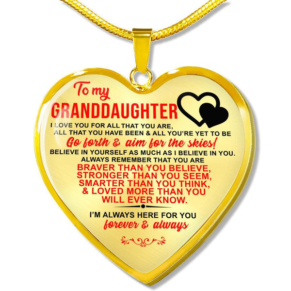 To My Granddaughter - FBHD01