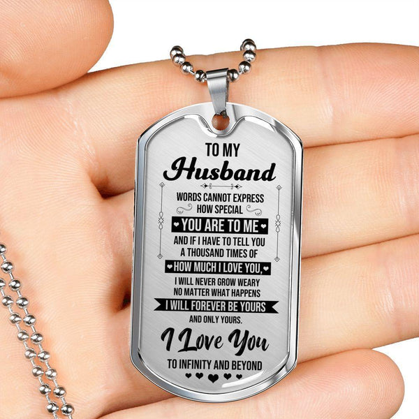 To My Husband - Love Tag - FBDT06