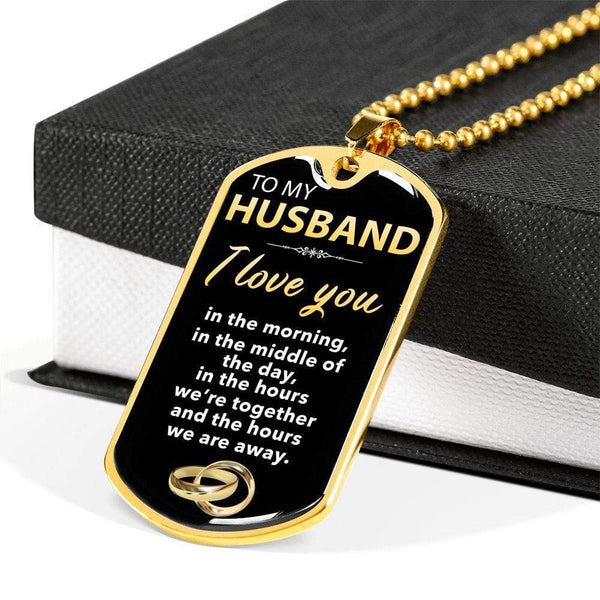 To My Husband - Love Tag - FBDT10