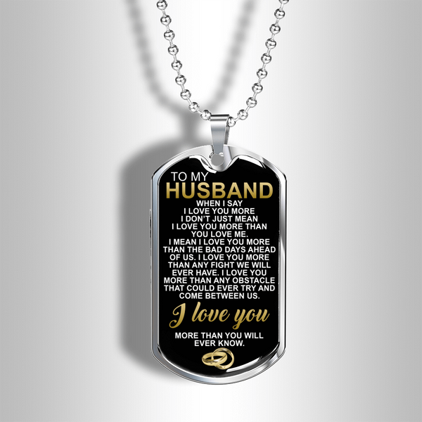 To My Husband - Love Tag - FBDT17
