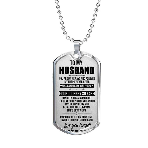 To My Husband - Love Tag - FBDT22