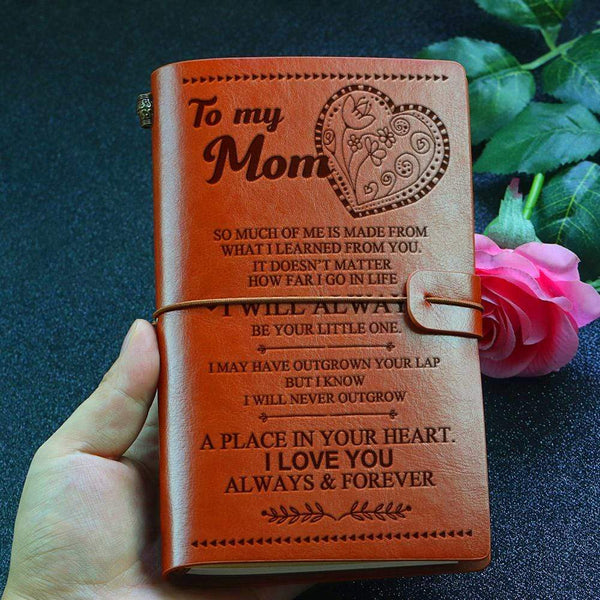 To My Mom - Beautiful Leather Journal - 04