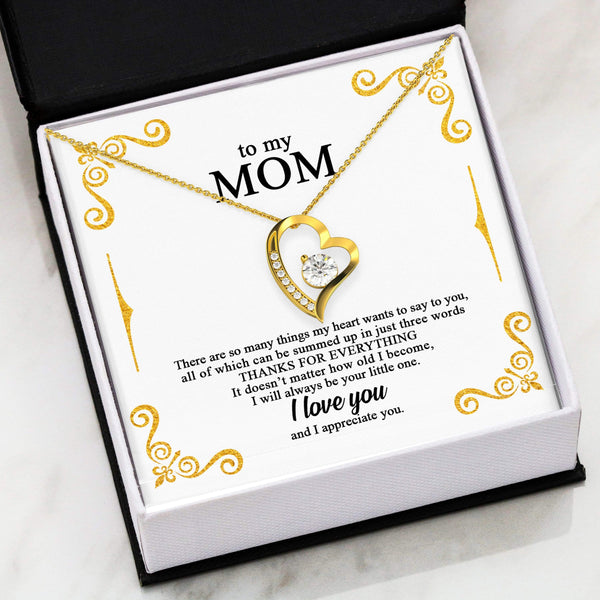 To My Mom - Forever Heart LoveCube - SO184