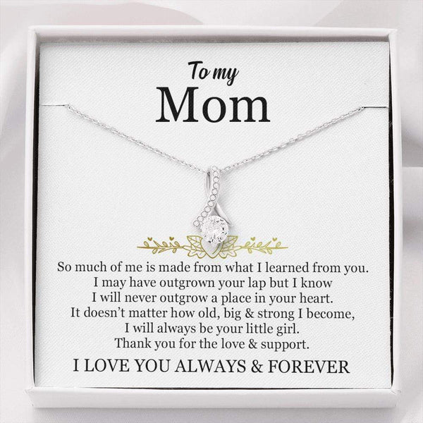 To My Mom - Love Knot Necklace - SO570
