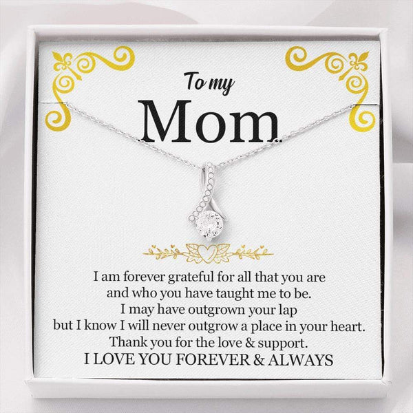 To My Mom - Love Knot Necklace - SO594