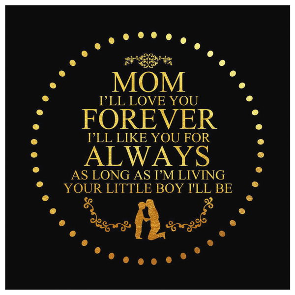 To My Mom - Premium Canvas Wall Art - WA08