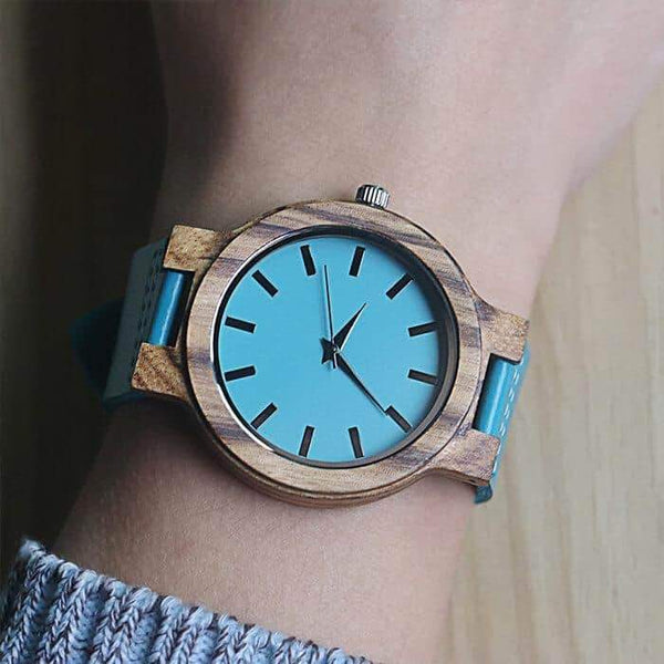 To My Mom - Wood Watch - WH-FB01-10
