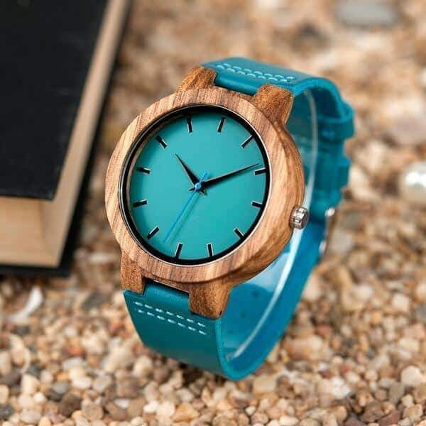 To My Mom - Wood Watch - WH-FB01-7