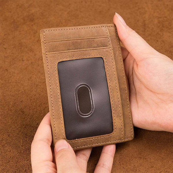 To My Son - Slim Leather Wallet - WHWT02-06