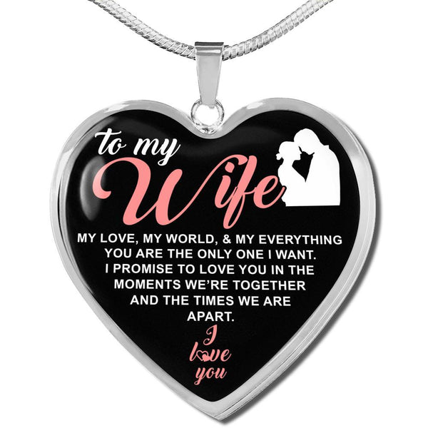 To My Wife - FBDH09 - Heart Necklace