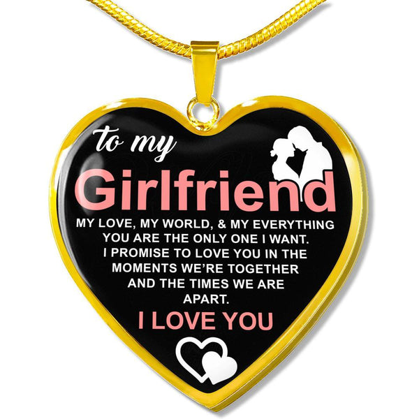 To My Wife - FBDH10 - Heart Necklace