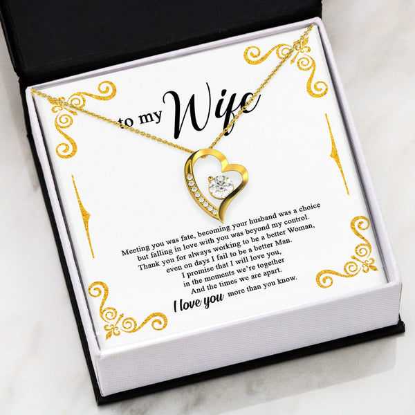 To My Wife - Forever Heart LoveCube - SO194