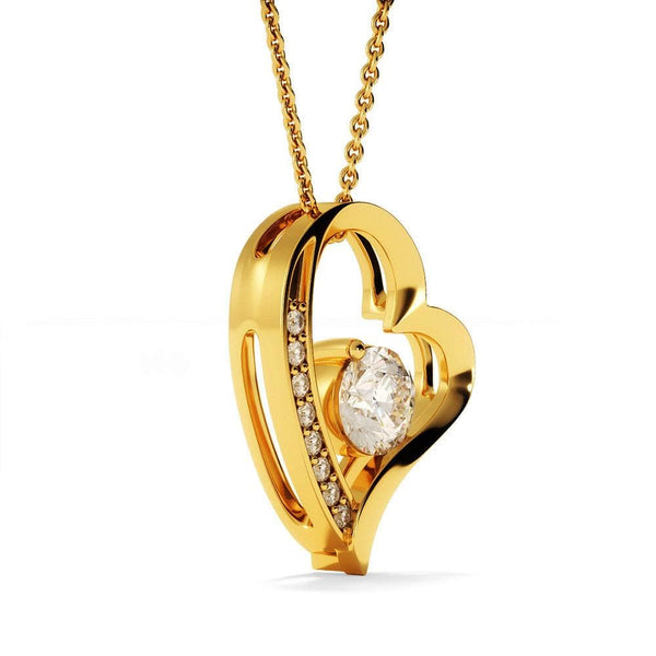 To My Wife - Forever Love Necklace - SO396