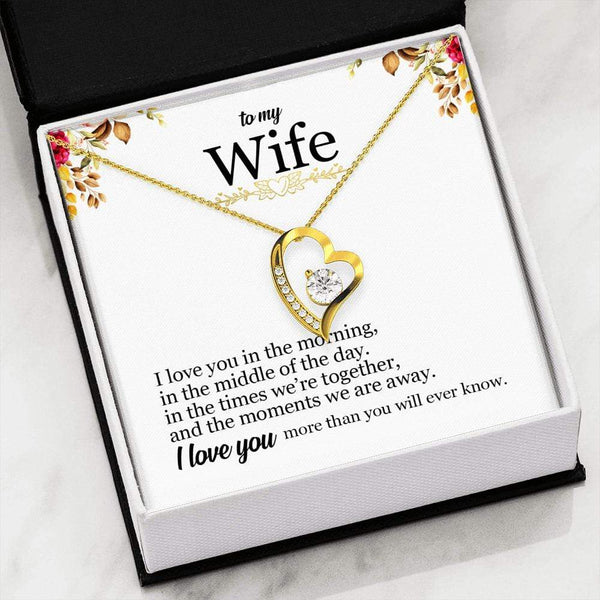 To My Wife - Forever Love Necklace - SO50