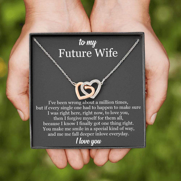 To My Wife - Love Note Necklace - SO502