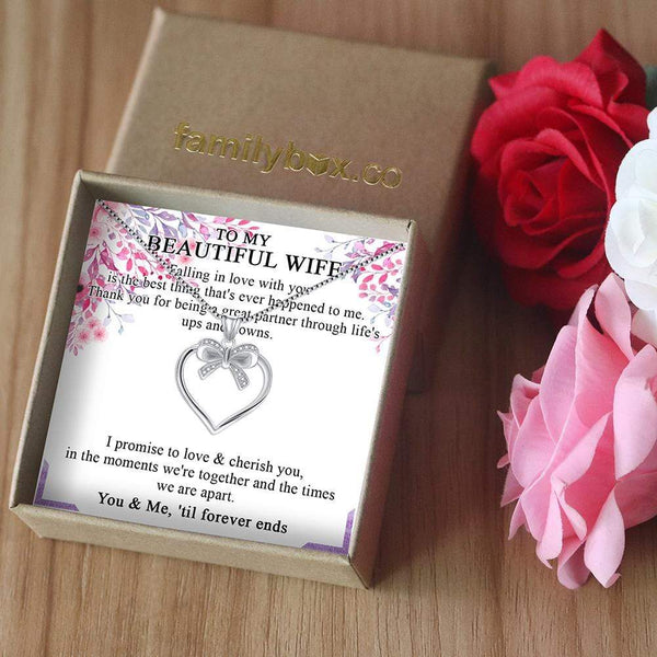 To My Wife - LoveCube w/ Necklace - PB1232-S4