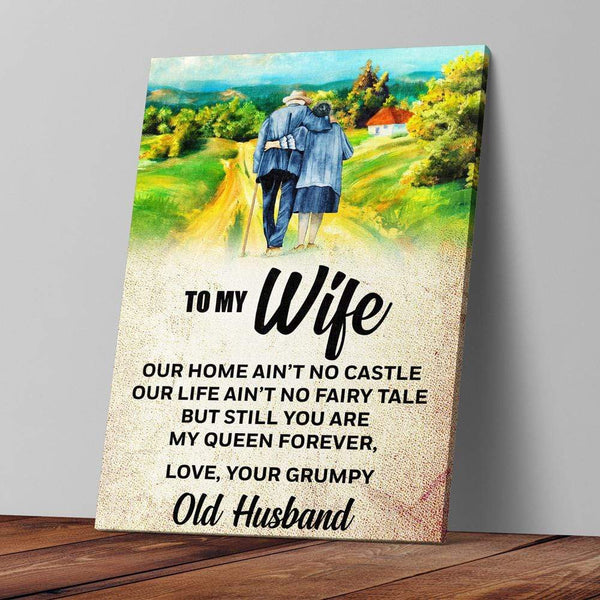 To My Wife - Premium Canvas Wall Art - TL04