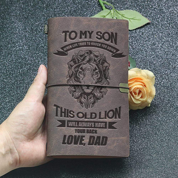 To Son - From Dad - Sentimental Journal WHNT-G-CUSTOM-05