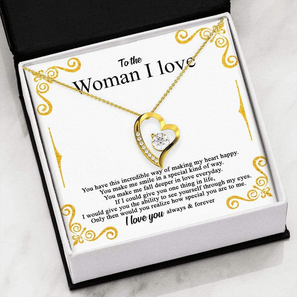 To The Woman I Love - Forever Heart LoveCube - SO217