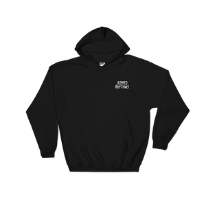 Ripped Rhythms Embroided Logo Hooded Sweatshirt
