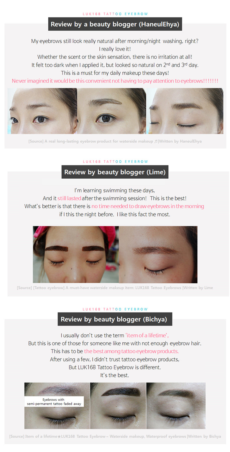 Luk 168 Tattoo Eyebrow Luk Cosmetic