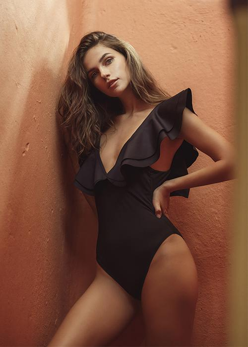 Alex black one piece