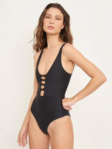 Brazil Black One Piece